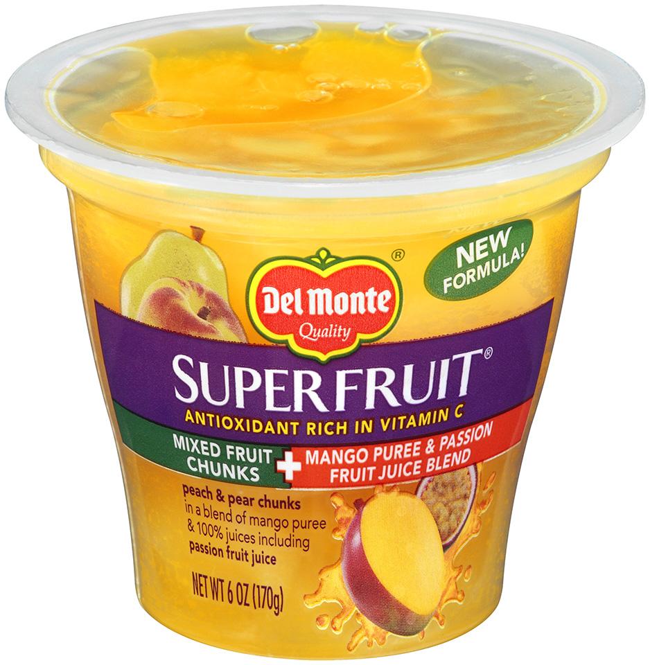 Del Monte Fruit Bowls Del Monte Mixed Fruit Chunks