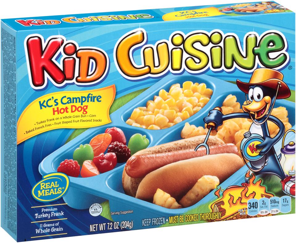 Kid Cuisine Hot Dog