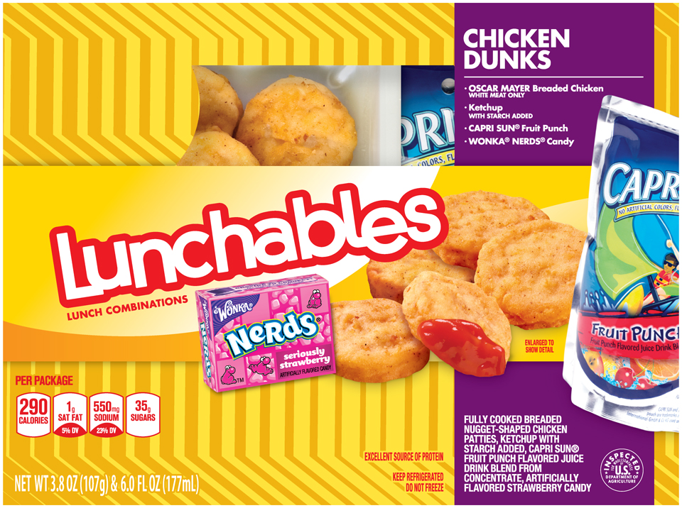 Lunchables Chicken Lunchables Chicken Dunks 3.8