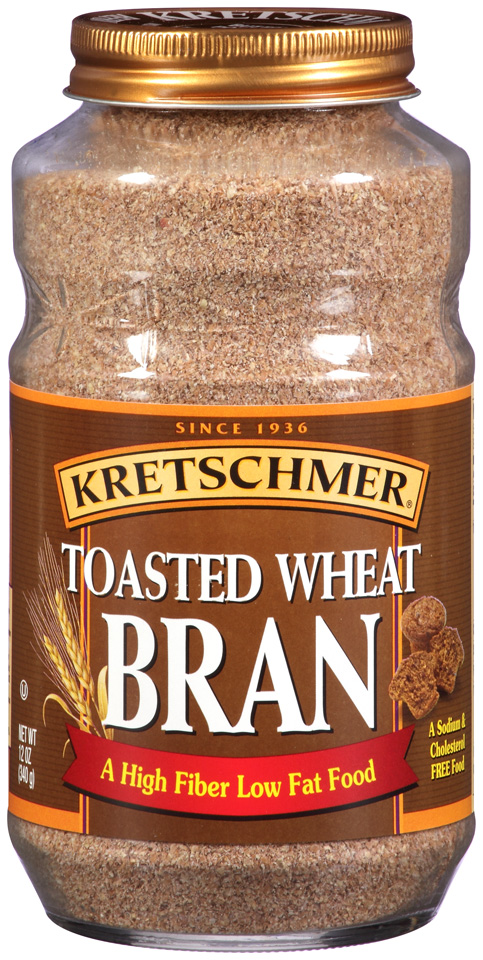 Toasted wheat bran