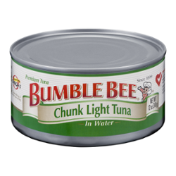bumble bee chunk light tuna in water 12 oz. Black Bedroom Furniture Sets. Home Design Ideas