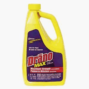 cleaning drano commercial line max gel clog remover cleaner rating
