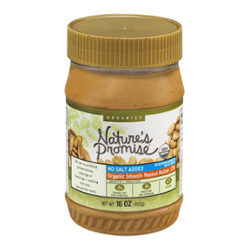 Nature S Promise Organic Peanut Butter