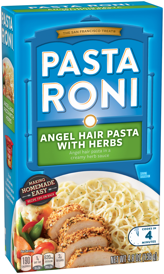 Ewg S Food Scores Pasta Roni Angel Hair Pasta In A Creamy Herb