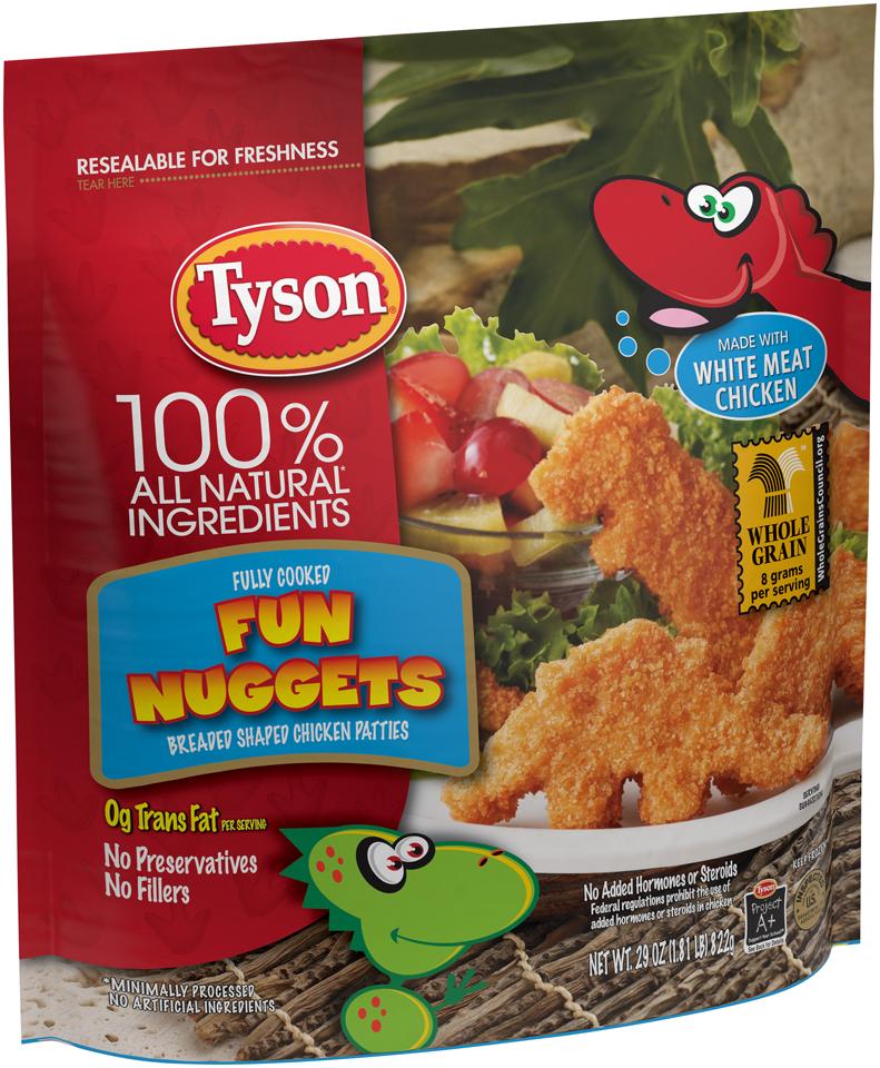Ewgs Food Scores Tyson Breaded Shaped Chicken Patties