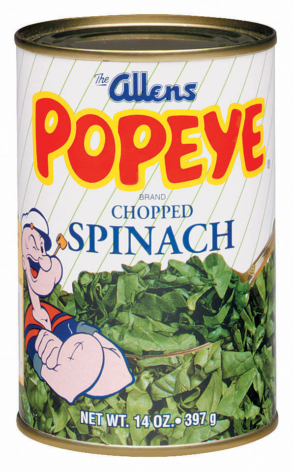 how to cook canned spinach