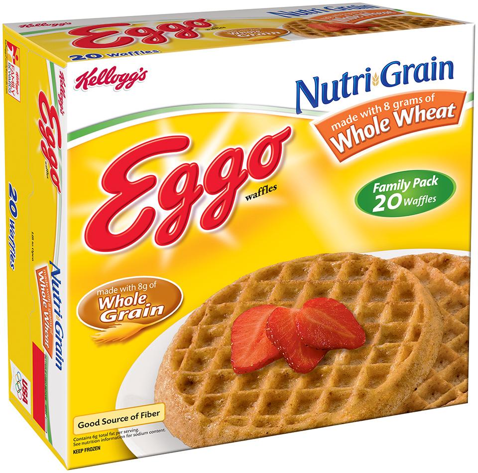 eggo frozen waffles nutrition facts