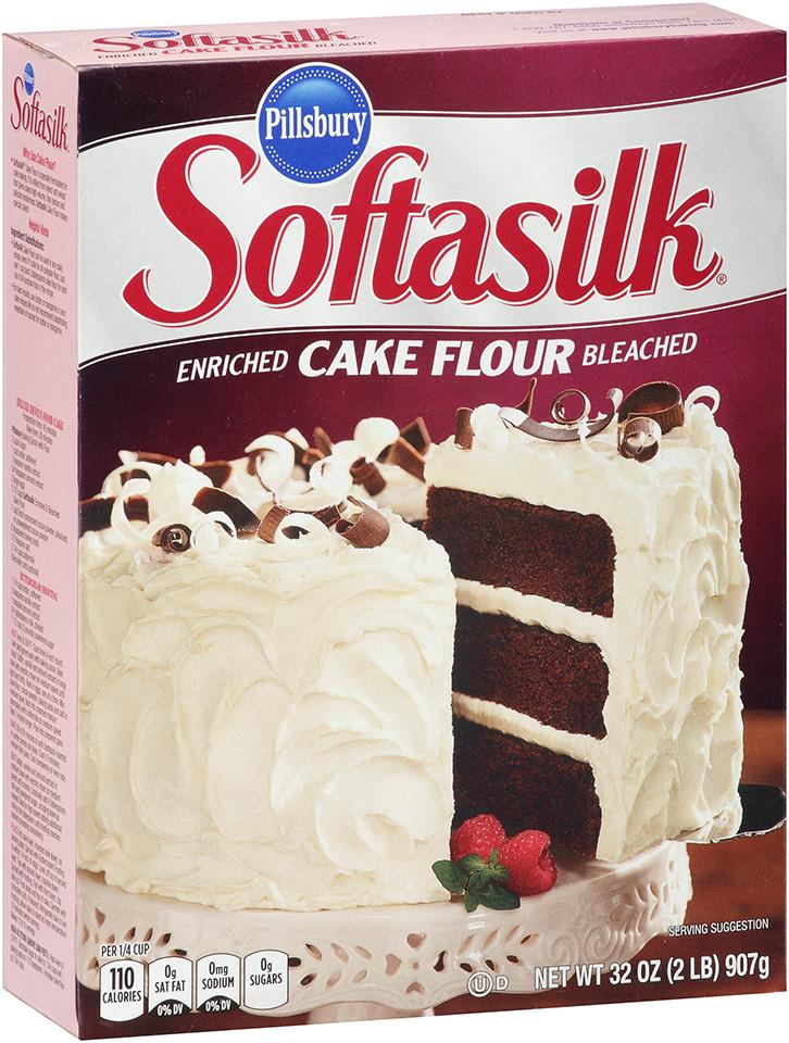 Pillsbury Softasilk Enriched Bleached Cake Flour