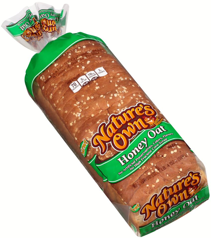 Nature S Own Honey Oat Bread