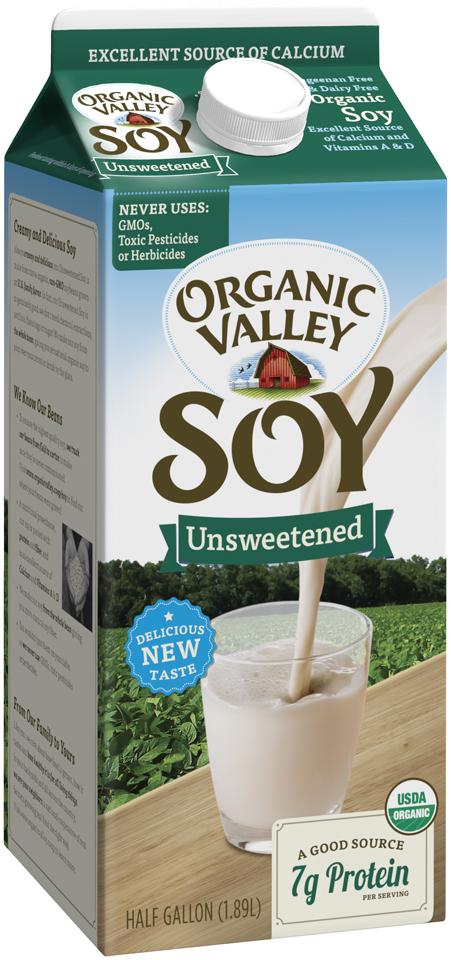 EWG's Food Scores | Plant Based Milk - Soy Milk Plain Products
