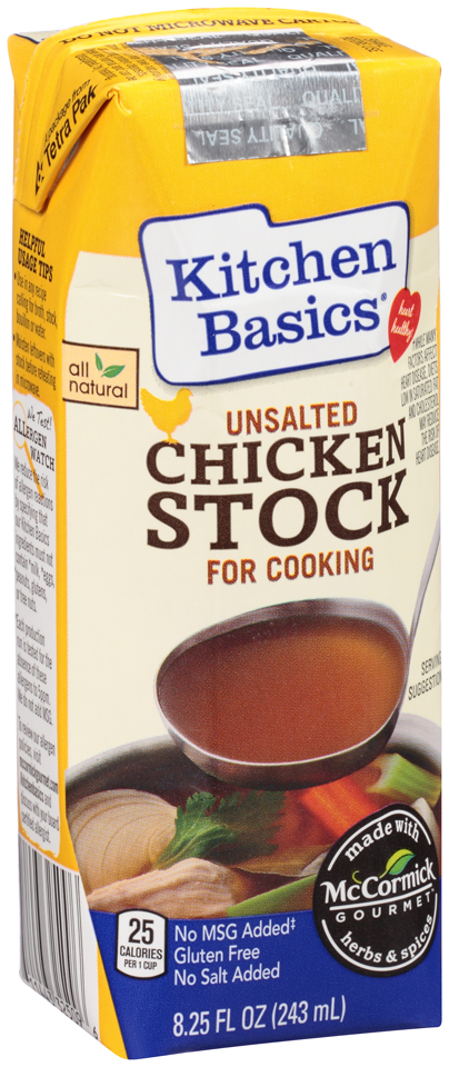 Ewg S Food Scores Kitchen Basics Chicken Stock For Cooking Unsalted
