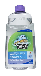 scrubbing bubbles automatic shower cleaner refreshing spa