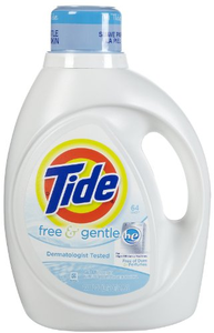 Tide Free and Clear Acne Safe Detergent Laundry