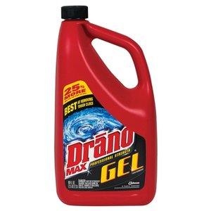 drano professional strength max gel clog remover cleaner rating