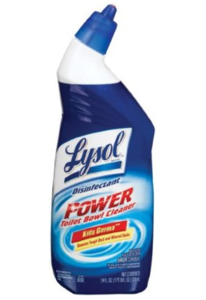 LYSOL Toilet Bowl Cleaner, Power