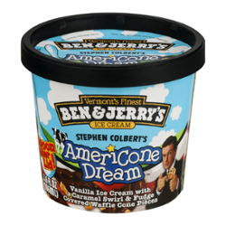 Ewg S Food Scores Ben Jerry S Ice Cream Stephen Colbert S Americone Dream Stephen Colbert S Americone Dream Ben & jerry's churned up this euphoric creation in honor of the late show funnyman. ewg