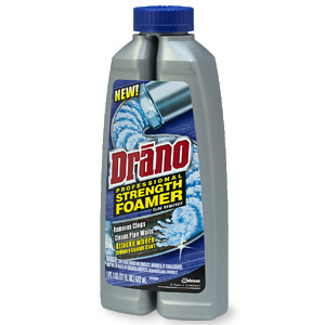 drano professional strength foamer clog remover cleaner rating