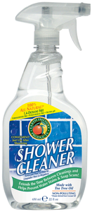 earth friendly products shower cleaner date entered