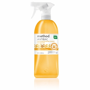 Method ANTIBAC Antibacterial Kitchen Cleaner Orange Zest There Is More Than One Version Of This Product Grades Vary From B To D