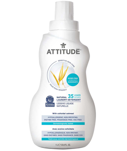 attitude sensitive skin natural laundry detergent